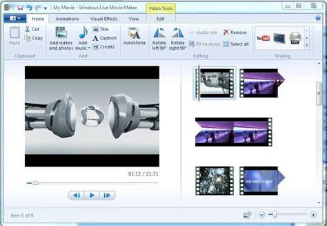 layout movie maker history timeline of windows movie maker
