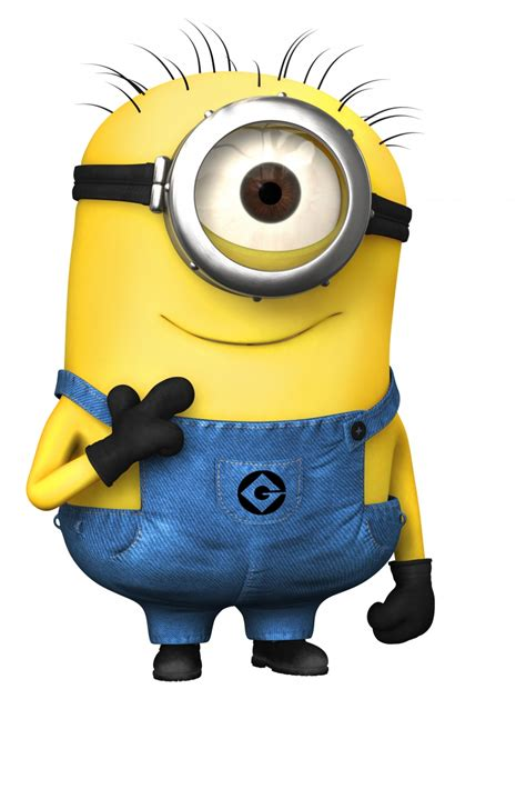 minions despicable me looked at the yellow the comes in and i saw a minion
