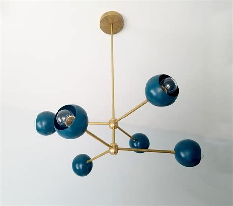 Globe Sputnik Chandelier Midcentury Modern Lighting Modern Style Chandeliers