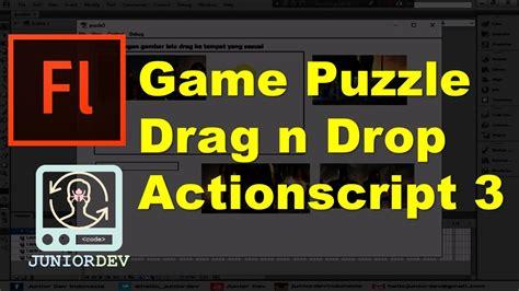 membuat game puzzle dengan flash membuat permainan puzzle drag n drop dengan actionscript 3