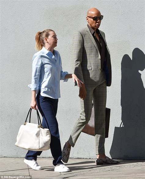 rupaul ellen ellen pompeo and rupaul look ready for business as they