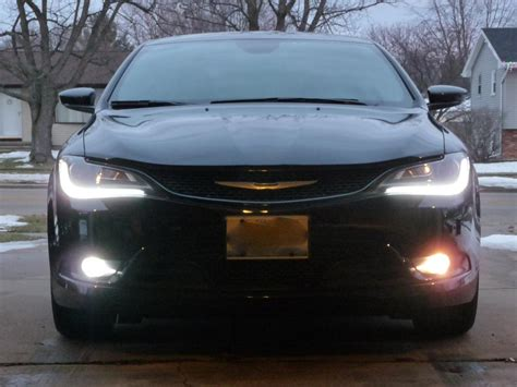 2015 chrysler 200 fog lights new led fog l from philips