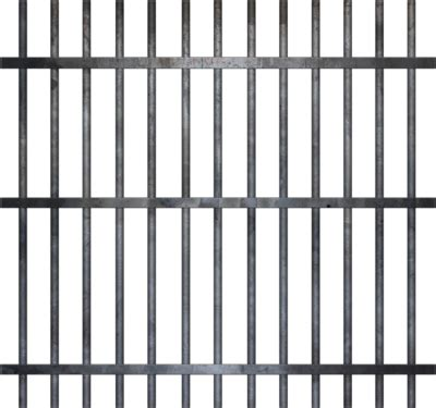Drawing Of Prison Bars