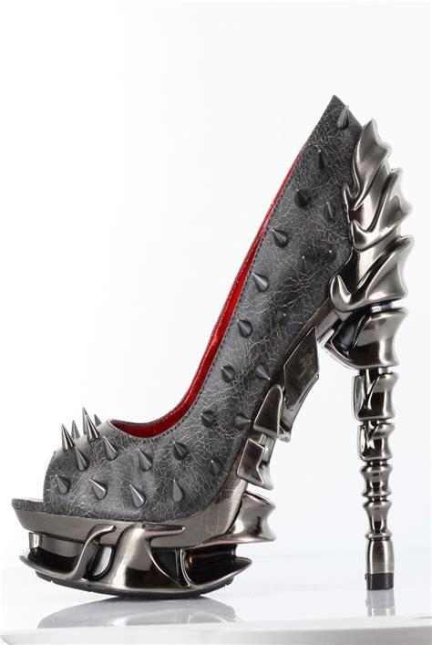 spike high heel best 25 spiked heels ideas on high heels