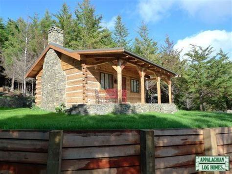 appalachian log timber homes standard model rustic style