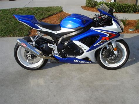 2008 Suzuki Gsxr 750 2008 Suzuki Gsx R 750 Sportbike For Sale On 2040motos