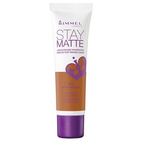 Rimmel Stay Matte Liquid Mousse jual rimmel stay matte liquid mousse foundation depp