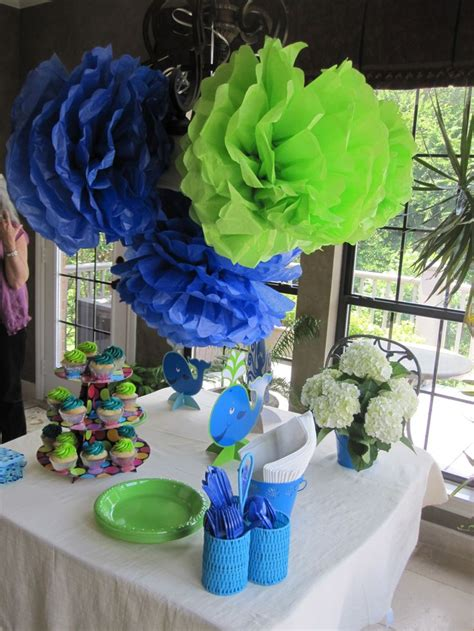 Baby Shower Decorations Blue And Green by 1000 Images About Boy Baby Shower Ideas On