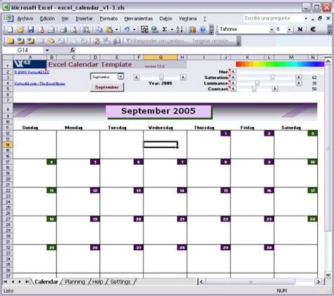 excel template for calendar calendario agenda excel 2013 imagui