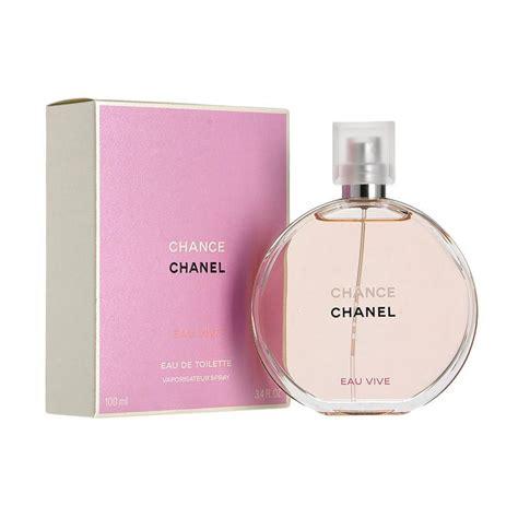 Harga Chanel Eau De Parfum jual chanel chance eau vive edt parfum wanita 100 ml