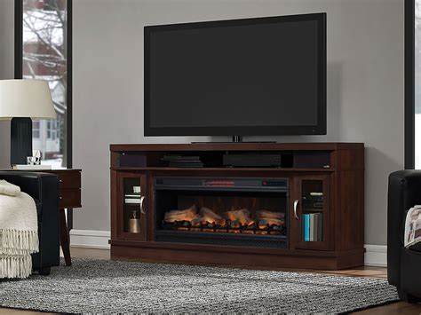 entertainment console with electric fireplace indoor electric fireplace and entertainment center
