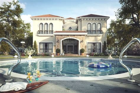 tuscan inspired luxury villa in dubai uae