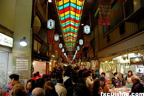 best foods on the market nishiki ichiba food market in kyoto japan