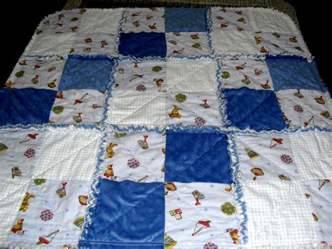 How To Make A Quilt Out Of Baby Clothes by Up The Rainbow Creek Baby Rag Quilt
