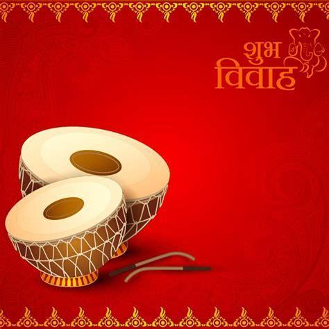 Classics clipart hindu wedding card design   Pencil and in