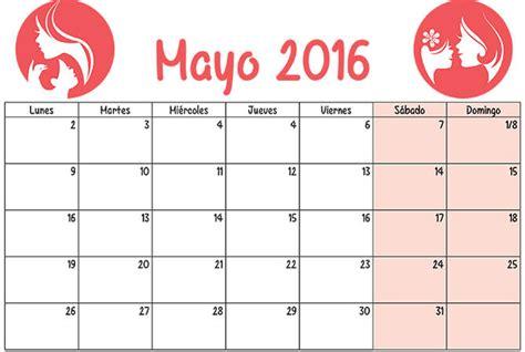 calendario para imprimir 2016 mes por mes im 225 genes de calendarios infantiles de mayo 2016 para