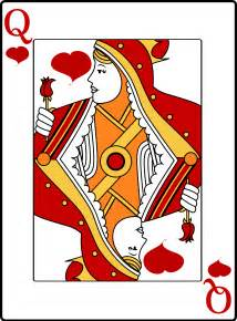 clipart queen of hearts