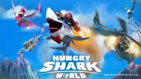 download game hungry shark mod apk data hungry shark world mod apk 1 6 0 free download android