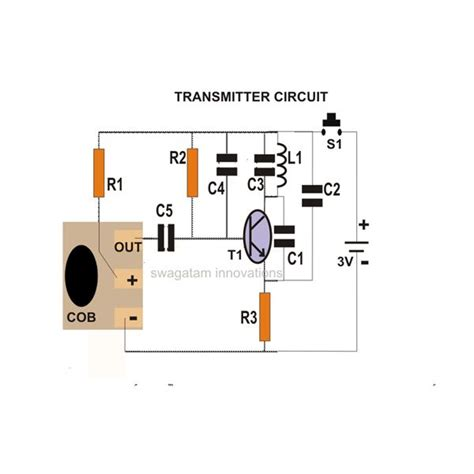fm transmitter receiver circuit diagram how to build a simple fm wireless remote switch