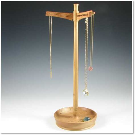 wooden necklace holder stand necklaces and pendants ideas