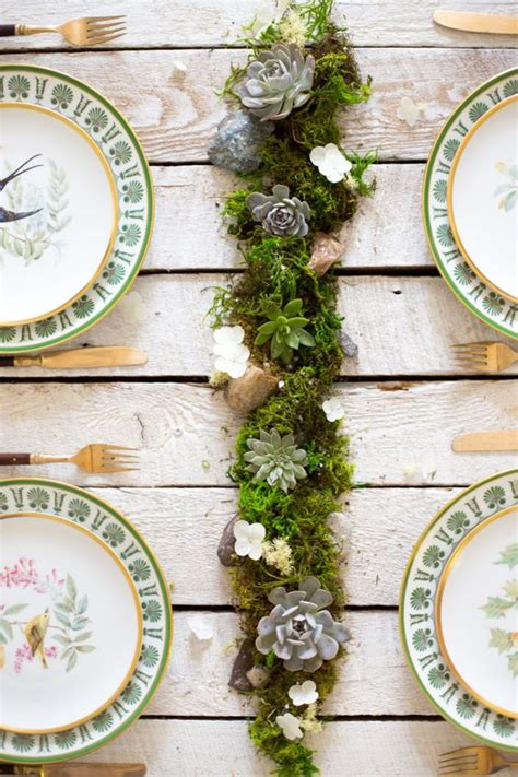 succulent table centerpiece wedding table ideas what to put on wedding reception tables