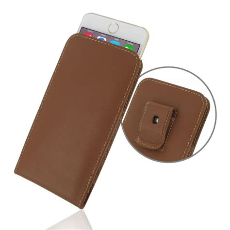 Pouch Iphone 6 Plus iphone 6 6s plus pouch with belt clip brown
