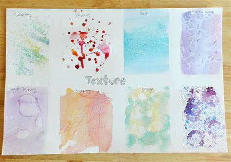 watercolor texture tutorial grow creative blog how to watercolor textures