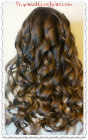 princess hairstyles noodle curls wand curls curling wand curls and princess hairstyles on