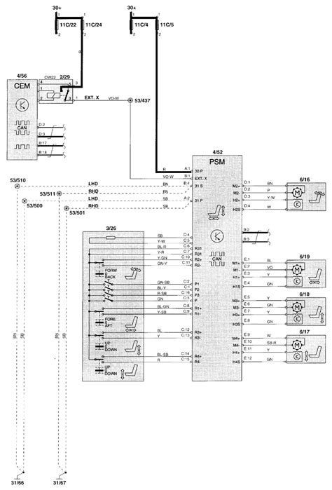volvo v70 electrical diagram wiring diagram with description