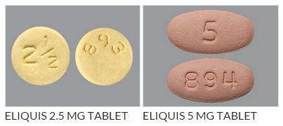 eliquis 5 mg tablet dosage and administration