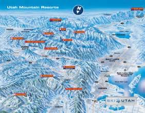 Utah Ski Resorts Map bed and breakfast inns of utah inc representing