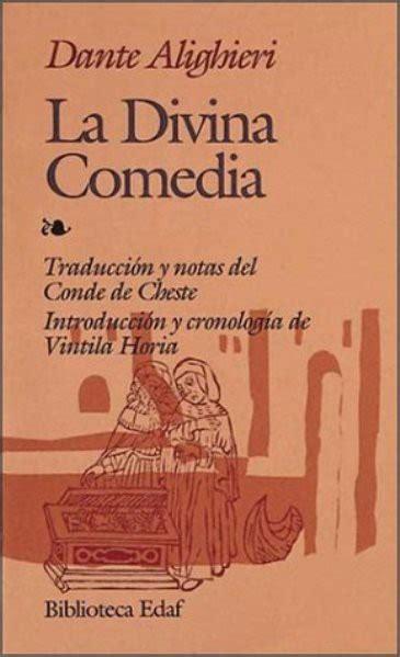 libro spanish novels comedia de libro la divina comedia de dante alighieri bs 1 850 000 00 en mercado libre