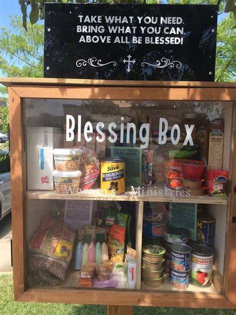 small blessing box makes a big impact abc13