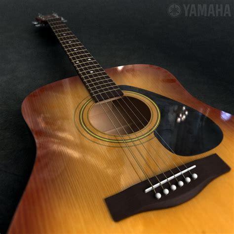 Yamaha Accoustic Folk Guitar F310 Tbs acoustic guitar yamaha f310 3d 3ds