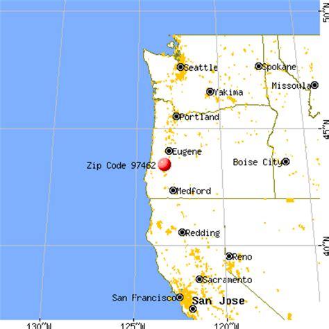 map of oakland oregon 97462 zip code oakland oregon profile homes
