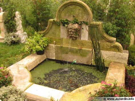jardin fontaine les fontaines au jardin
