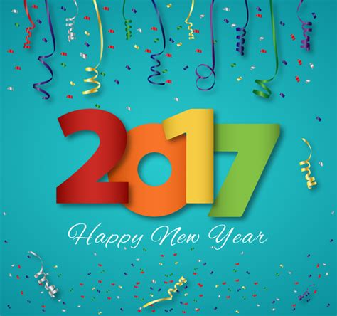 number templates for photoshop 2017 new year template design with colorful numbers free