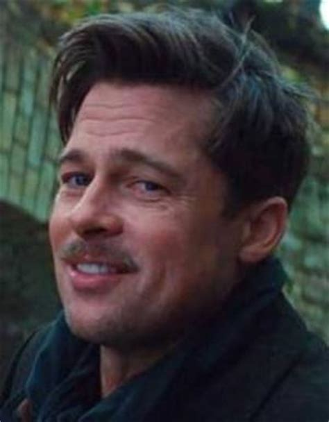 brad pitt inglorious bastard haircut where i grew up we started out in okla by brad pitt
