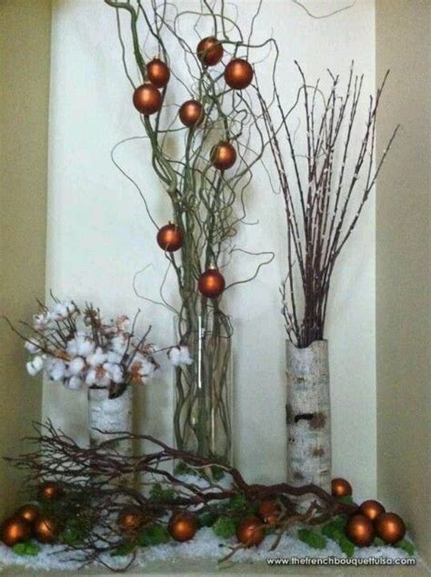 easy rustic christmas decor christmas pinterest