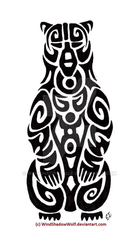 tribal totem pole tattoo designs american totem