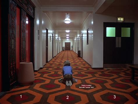 The Shining Floor by The Shining How The Kubrick Carpet Trick Works