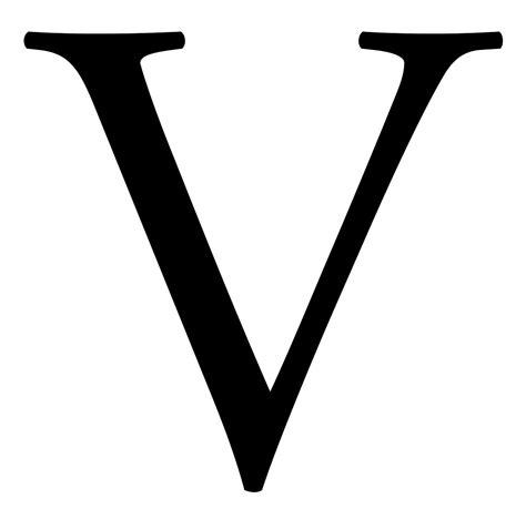 Letter V quot v alphabet letter vee vincent victor a to