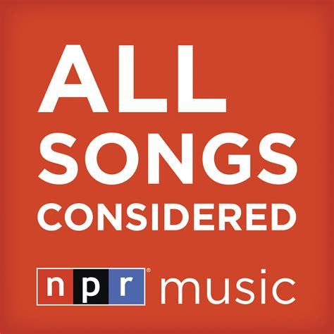 all song all songs considered ksmu radio