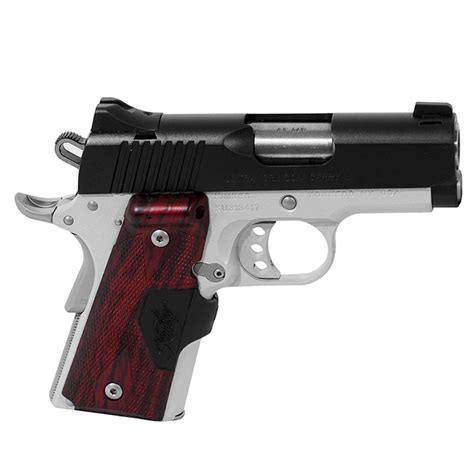 Kimber Ultra Carry 45acp kimber 1911 ultra crimson carry ii 45 acp 45acp semi