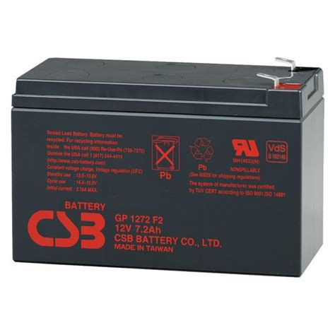 Battery Aki Ups Csb 12v 7 2ah Murah gp1272 f2 csb battery 12v 7 2ah