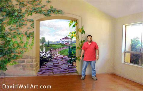 how to paint a mural on a wall pin by paulette on indoor flair