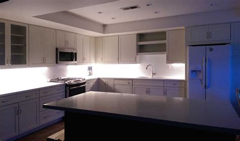cabinet linear lighting residential led lighting projects from flexfire leds