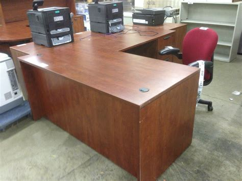 cherry l shaped desk cherry l shaped executive desk with hutch