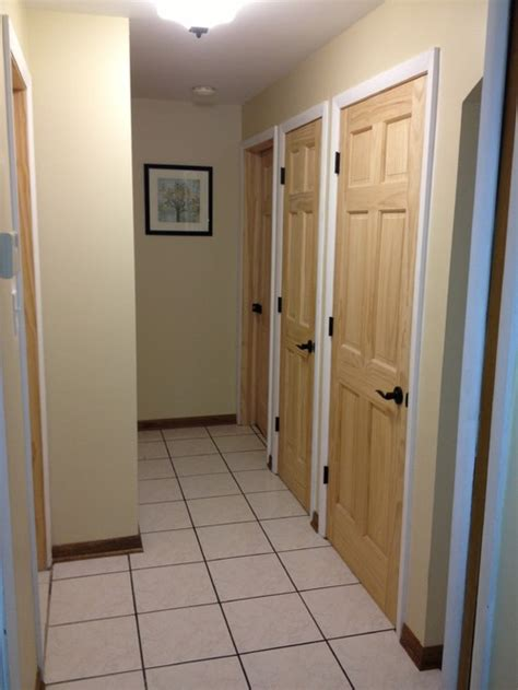 Interior Wall Paint Colors by Stain Doors Or Leave Natural