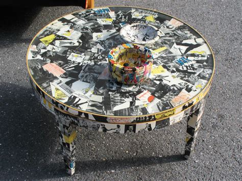 Decoupage Tabletop Ideas - decoupage ideas for furniture easy crafts and